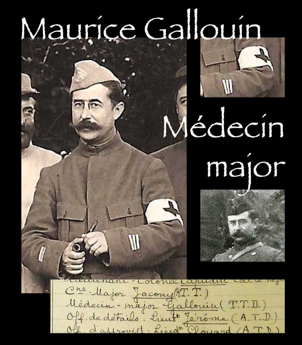 Maurice Gallouin, médecin major du 28e RI