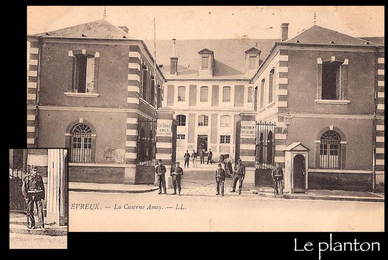 La caserne Amey d'Évreux