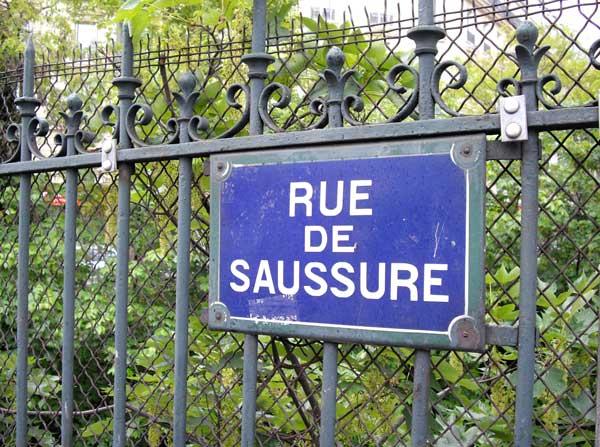 Rue Saussure à Paris