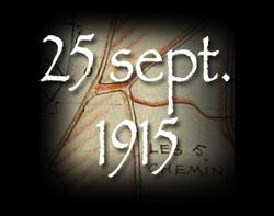 Lire le texte sur le 25 septembre 1915