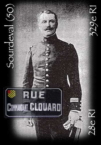 Ernest Clouard, commandant du 28e RI
