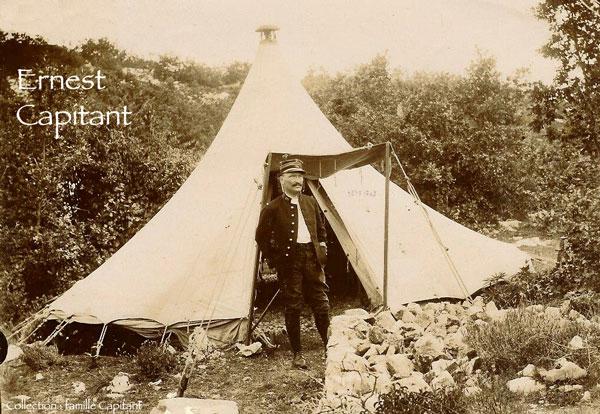 Ernest Capitant, lieutenant-colonel du 28e RI