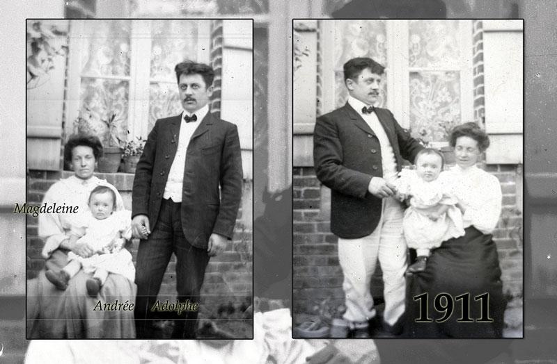 Adolphe Orange en 1911