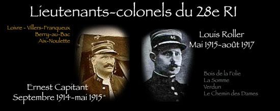 Louis Roller, lieutenant-colonel du 28e RI