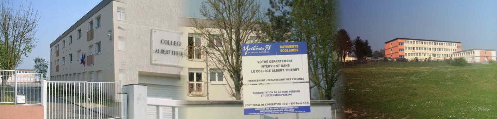 Panorama collège Albert Thierry