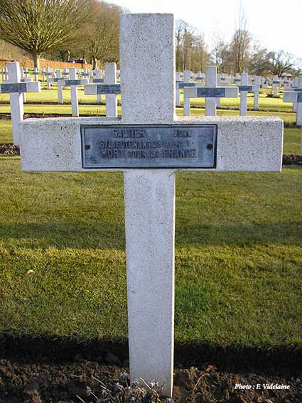 La sépulture de Jean Galtier