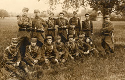 Soldats du 28e RI : avant 1914. Collection : Y. Thomas