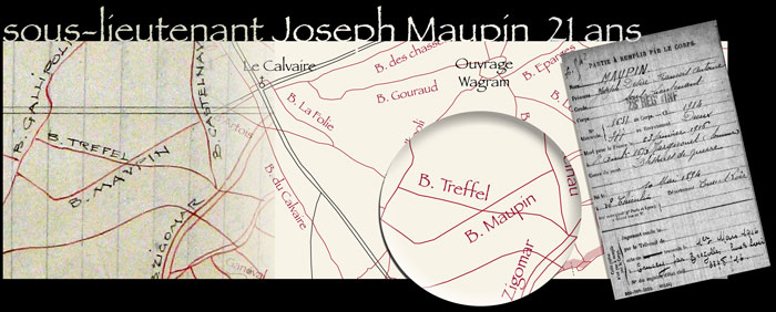 le boyau Maupin, Maucourt (Somme)
