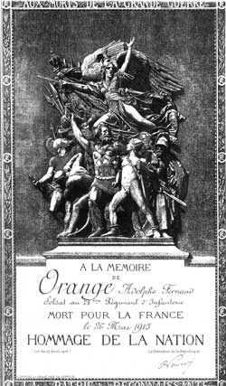 Photo du monument aux morts de Gournay
